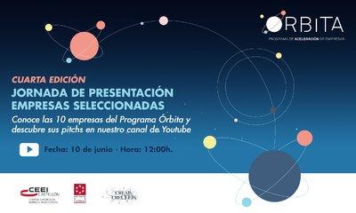 Presentación 10 proyectos seleccionados 4ª edición de Órbita