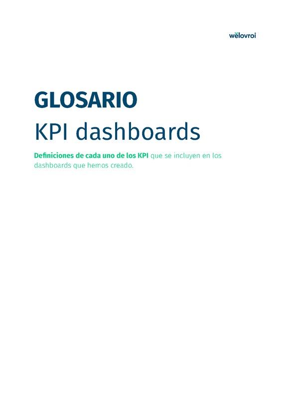Glosario - KPI dashboards