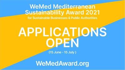 WeMed Mediterranean Sustainability Award