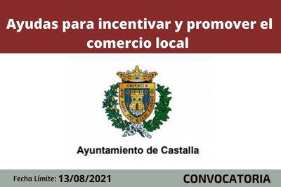 Ayudas comercio local Castalla