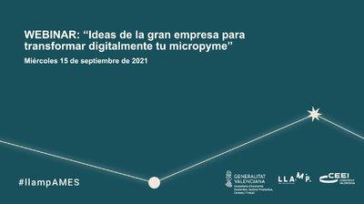 Webinar LLamp AMES: ideas de la gran empresa