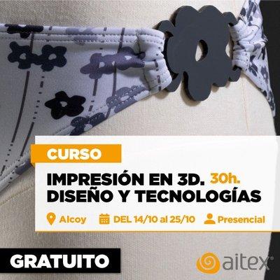 Curso gratuito IMPRESIÓN 3D