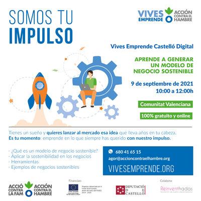 cartel del taller modelos negocios sostenibles