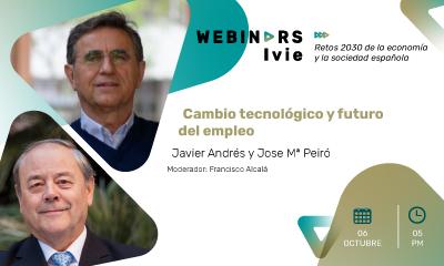 Webinar5:Cambio tecnológico y futuro del empleo