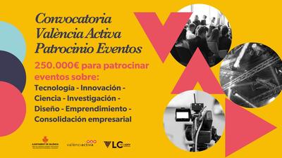 Patrocinio Eventos Valencia 2021