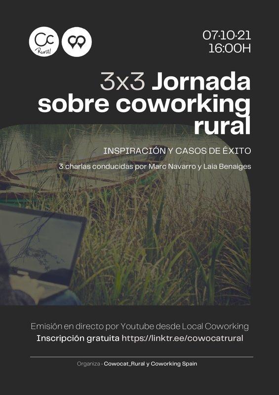 3X3 Jornada sobre coworking rural