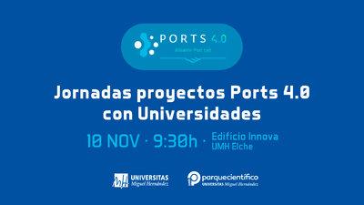 La UMH acogerá la jornada interuniversitaria para la elección de proyectos para  Ports 4.0