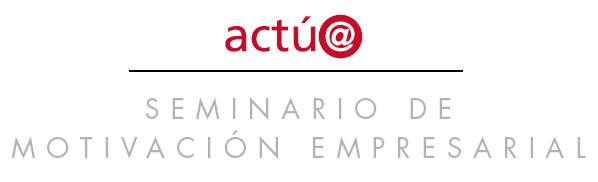 ACTUA - Manual de Motivación Empresarial