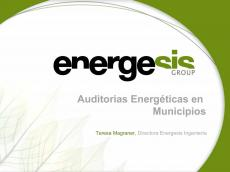 Auditor�as energ�ticas en Municipios #