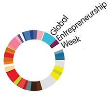 Global Entrepreneurship Week. Logo