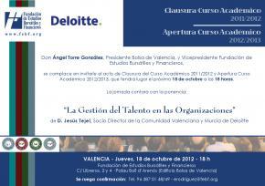 La FEBF organiza con Deloitte una sesión magistral sobre la Gestión del Talento en la empresa