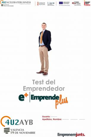 Autodiagnóstico del emprendedor, modelo de informe