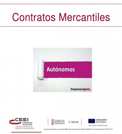 Manual para Autónomos: Contratos Mercantiles