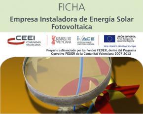 Empresa Instaladora de Energía Solar Foltovoltaica
