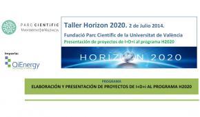 Taller hacia el éxito en horizonte 2020. Subvenciones UE