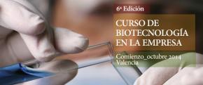 Logo Curso Biotecnología en la Empresa