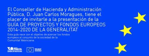 """Invitación Acto de Presentación """"Guía de Proyectos y Fondos Europeos 2014−2020"""""""