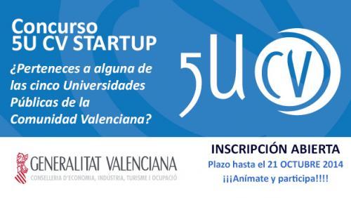 Premios 5U-CV Startups