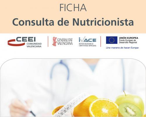 Consulta de nutricionista