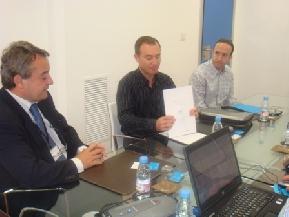 Memoria 2009. Reunión trabajo CEEI Murcia