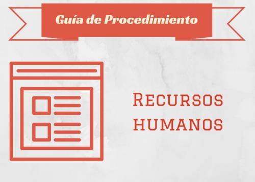 Guía Proc. Recursos humanos