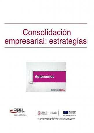 Manual para Autónomos: Consolidación Empresarial. Estrategias