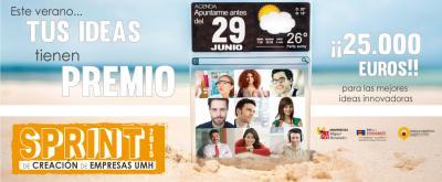El Sprint de Creaci�n de Empresas de la UMH est� abierto tanto a la comunidad UMH como a emprendedores externos