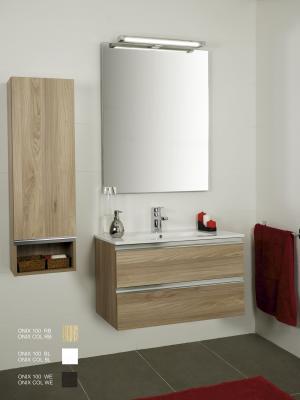 Mueble de Baño Roble. Incluye Lavabo (Ref: rex80rb)
