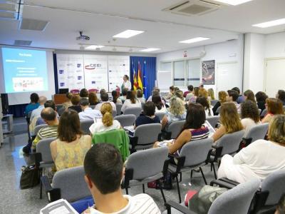 Imagen de la Jornada sobre Eventos en CEEI Valencia