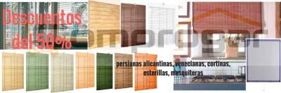 Persianas cortinas mosquiteras descuentos del 50 pc