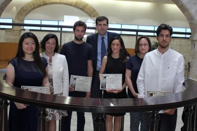 Premiados Primer Concurso de Bolsa FEBF - CEU UCH