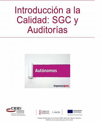 Manual para Autónomos: Introducción a la Calidad. SGC y Auditorías