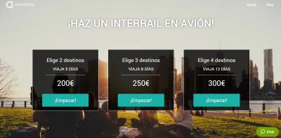 ¡Novedades en Airhopping! Bienvenido pase interrail (en avión)
