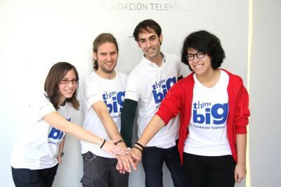 Jóvenes participantes en la última convocatoria de Think Big