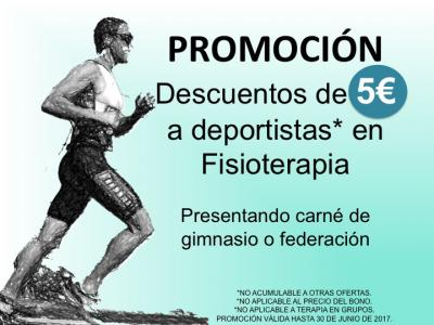 Descuento Fisioterapia y Deporte
