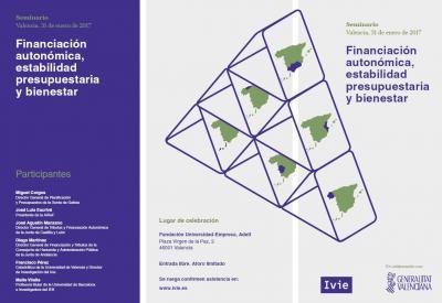 Seminario Financiación autonómica, estabilidad presupuestaria y bienestar