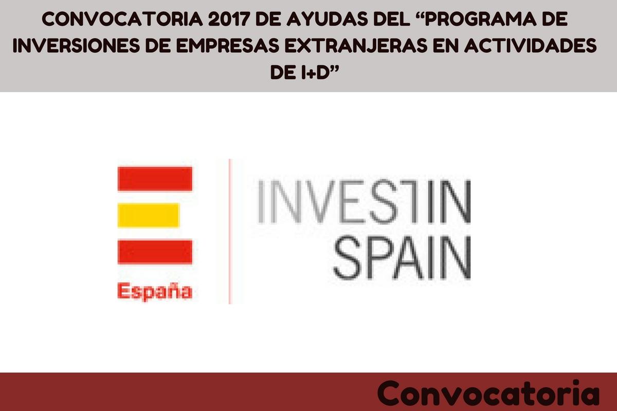 programa de inversiones de empresas extranjeras en