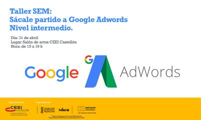 "SEM ""Sácale partido a Google Adwords"" (nivel intermedio)"