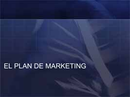 Plan de Marketing (Presentaci�n)