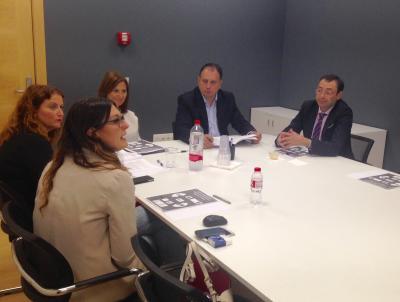 Reunión Fundación Globalis y Diputación de Castellón
