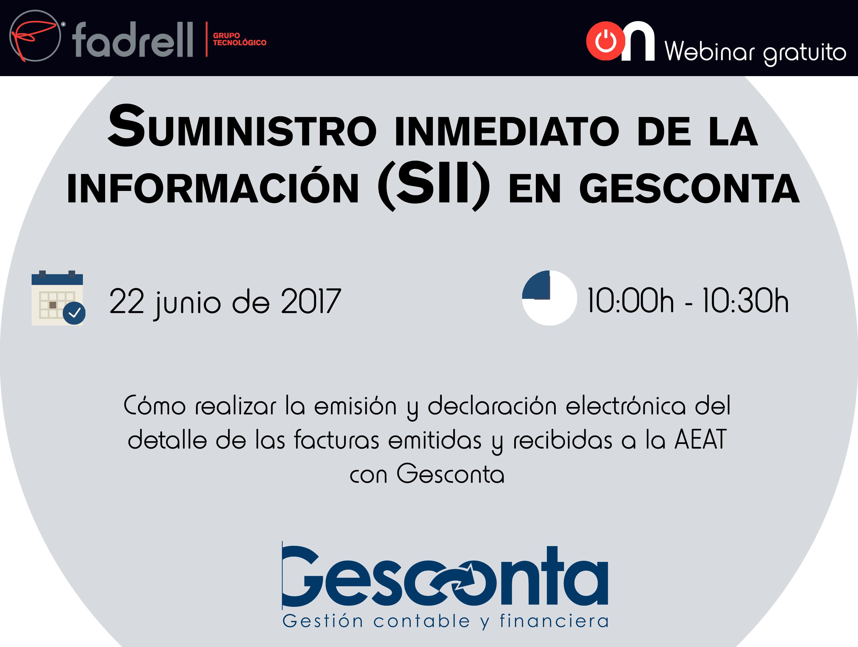 Webinar sii en gescom seminarios ceei castell n for Aeat oficina virtual sede electronica