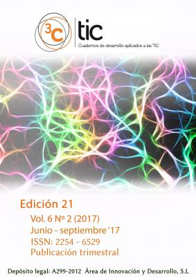 Disponible número 21 de la revista 3C TIC