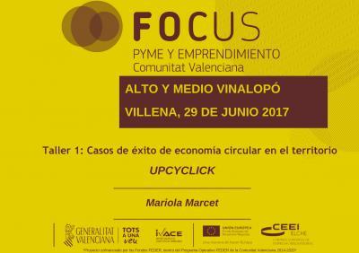 Casos de éxito de economía circular. Upcyclick