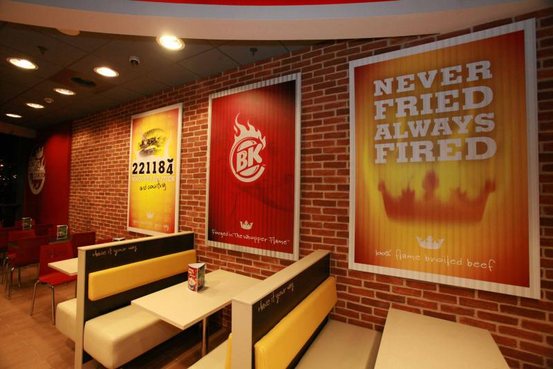 Decoracion burguer king