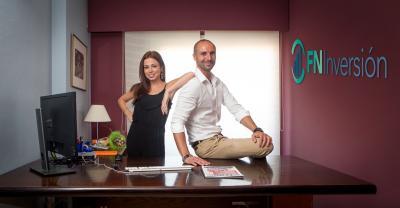 Nereida Soriano y Felipe Navarro, socios de FN Inversión