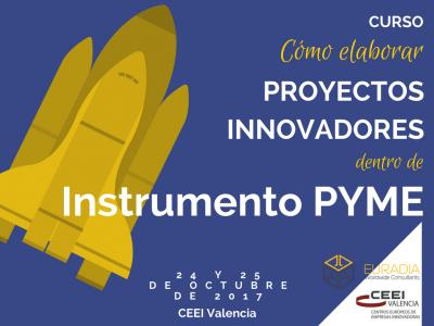 "Programa Curso ""Cómo elaborar programas innovadores dentro de Instrumento Pyme"""