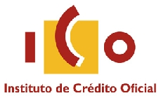 ICO, Instituto de Cr�dito Oficial, logo #