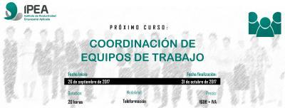 Curso Coordinación equipos de trabajo