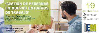 Desayuno IEM: Gestión de personas en nuevos entornos de trabajo