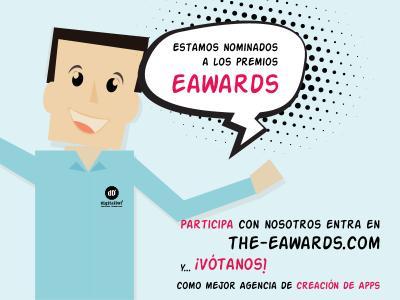 digitalDot finalista en los premios eAwards. Mejor Agencia de Apps